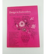 """Sewing Needlepoint Pattern Book Violet M. Endacott """"Design In Embroidery... - $20.53"""