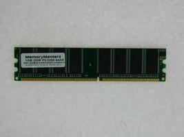 1GB MEMORY FOR HP PAVILION A1407.FR-M A1408.DK A1409.IT A1414.FR A1520N
