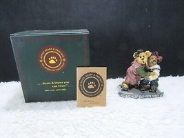 2001 Boyd's Resin Jackie & Leigh...As Time Rolls By Collectible Figurine... - $12.95
