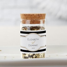 Personalized Glass Tube Jar - Classic (Set of 12)  - $26.99