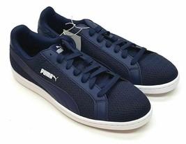 PUMA Men's Smash Knit C Sneakers Navy size 8 - $29.69