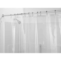 InterDesign EVA 5.5 Gauge Shower Curtain Liner, Stall 54  x 78 , Clear - $26.57+