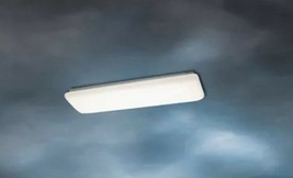 Kichler Lighting 10301WH Signature Flush Mount White Fluorescent Light Fixture - $39.99