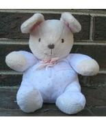 Carters Just One Year Prestige Bunny Rabbit Romper Rattle Lovey Plush Ba... - $142.19