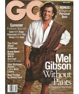 Gentlemen's Quarterly GQ Magazine May 1995 Mel Gibson Without Pants - $19.99