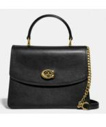 COACH Leather Parker Top Handle Satchel Crossbody ~NWT~ Black 52664 - $272.25
