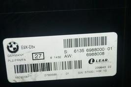 BMW X3 BCM FCM Body Control Multifunction  Module 6135-6988000 image 2