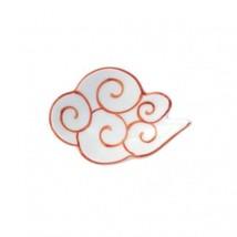 Mamezara Japanese Tiny plate Arita porcelain yaki Kintoun cloud set of 2 - $52.06