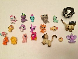 Hasbro Littlest Pet Shop Cats Dogs & More Lot of 19 SKU 057-63 - $13.69