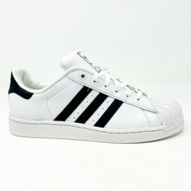 Adidas Superstar 2 K White Black G04532 Junior Youth Kids Sneakers - $47.95