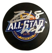 Zach Werenski Autographed Hand Signed 2018 ALL-STAR Puck Blue Jackets w/COA Cube - $39.99