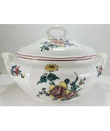 Villeroy & Boch Alsace Soup Tureen 3.5 Qt White Multi-Color Floral Cover... - $222.75