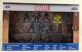 Marvel Nano Metalfigs Die Cast Deluxe Collectible Figures Set 2020 Jada Toys New - $27.57