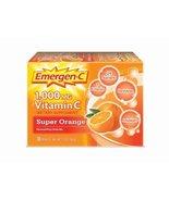 Emergen-C Super Orange, 1000 mg of Vitamin C, 0.32 Ounce, 30-Count by Em... - £10.17 GBP