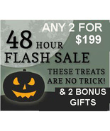 48 hour FLASH SALE PICK ANY 2 FOR $199 INCLUDES NO DEALS MYSTICAL TREASURES - $0.00