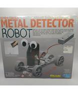 4M Remote Control Metal Detector Robot Kit- Mechanics Science Project - $28.98