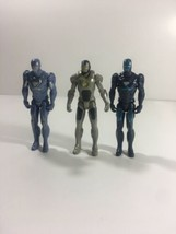 MARVEL 2011 HASBRO IRON MAN COLD SNAP,HYDRO SHOCK&GHOST ARMOR ACTION FIG... - $19.79
