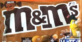 ENGLISH TOFFEE Peanut Chocolate M&Ms 18 LBS Limited Edition Flavor. - $149.99