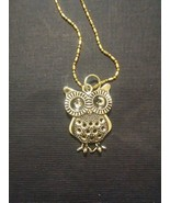 Owl Charm Necklace - $15.00