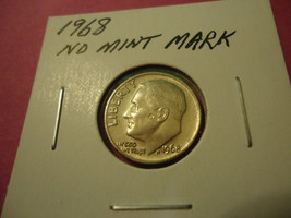 1968 Roosevelt Dime **L@@K** Combined Shipping - $1.98
