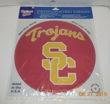 """Wincraft USC Southern California Trojans 8"""" x 8"""" Perforated Decal College NCAA - $14.03"""