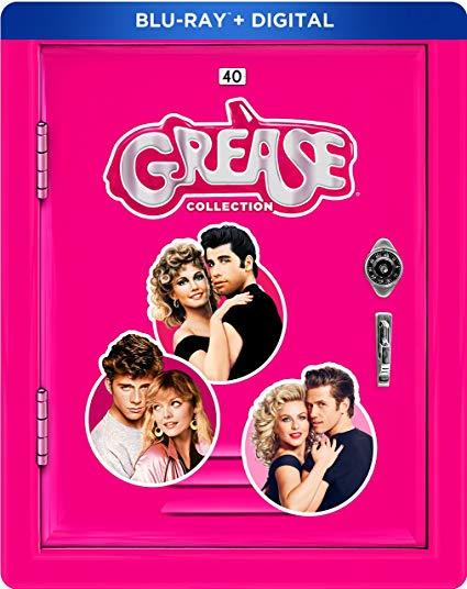The Grease Collection Steelbook (Blu-ray+Digital)