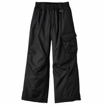 ZeroXposur Snow Pants Boy Black Size M 10-12 Heavy Insulated New - $29.69