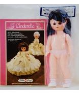 Fibre Craft Cinderella Crochet Pattern Leaflet with 13 Inch Doll FCM 163 - $17.95