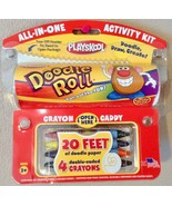 Playskool Doodle Roll Activity Kit  20' Drawing, Doodling Fun ~ Stocking... - $7.94