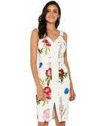 NWT TED BAKER London TB 3 (US 8-10) berry sundae floral bodycon sun dres... - $193.03