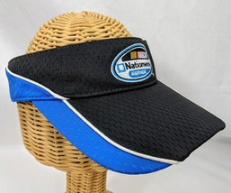 NASCAR Nationwide Series Blue and Black Visor - $9.49