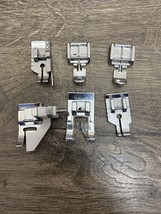Lot of 6 Sewing Machine Feet Singer 7422 Advanced Used - $29.99