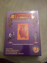 Dynasty A Fast Paced Card & Board Game. A Game to Remember G2R 2005 - $23.99