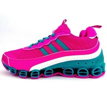 NWT New Adidas Microbounce T1 Sneakers Shoes Pink EF4886 Womens Size 9 - $159.99