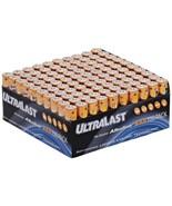 Ultralast ULA100AAAB ULA100AAAB Alkaline AAA Batteries, 100 pk - $45.81