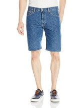 Levi's 505 Men's Cotton Regular Fit Medium Stonewash Denim Shorts 505-2111 sz 38