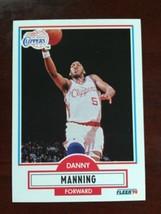 1990-91 Fleer - Danny Manning #87 - $0.99