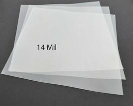 "14Mil Clear Mylar Sheets Blank Stencils Cricut airbrush Quilting 12x12"" ... - $22.07"