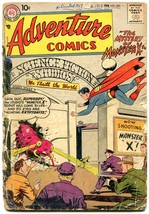 ADVENTURE COMICS #245 1958-SUPERBOY-MONSTER COVER P/FR - $31.53