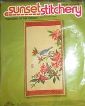Sunset Stitchery Songbird of the Orient Crewel Kit NEW - $34.64