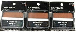 3 Count Covergirl 0.12 Oz Cheekers 104 Golden Tan Soft Powdered Sun Kiss... - $23.99