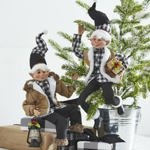 """Raz Imports 16"""" Christmas in the Country Posable Elf Set - $84.15"""