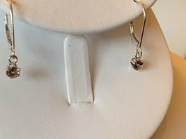 Couleur Change Grenade Boucles Argent Sterling 1.9cm Pendantes Neuf Estate - $39.54