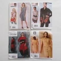 Vogue Designer Pattern Lot Anne Klein Zondra Rhodes Todays Fit Various S... - $29.69