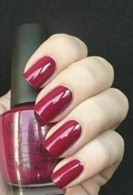 OPI Espana MANICURIST OF SEVILLE Raspberry Berry Purple Red Nail Polish ... - $9.79