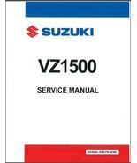 2009-2019 Suzuki VZ1500 Intruder M1500 / Boulevard M90 Service Manual on a CD - $12.99