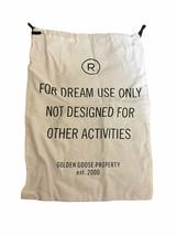 "GOLDEN GOOSE For Dream Use Shoe Cloth Dust Bag 10.5"" W X 14.5 L - $19.35"