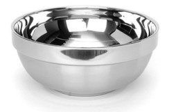Queensense Stainless Steel Bowl Kitchen Soup Dish 7.8 inches (2 Counts) image 2