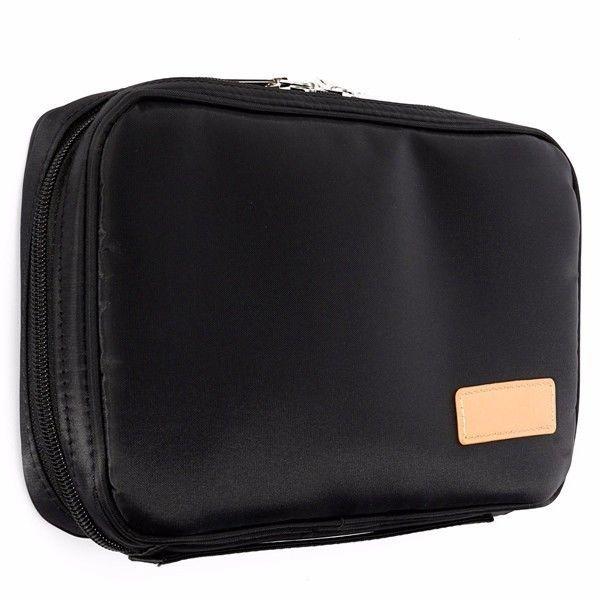 MSQ Bag Cosmetic Travel Brushes Makeup Storage Case Beauty Handbag Large