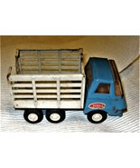 TONKA - Vintage Blue and White Livestock Carrier Small Toy Truck 1970s V... - $9.95
